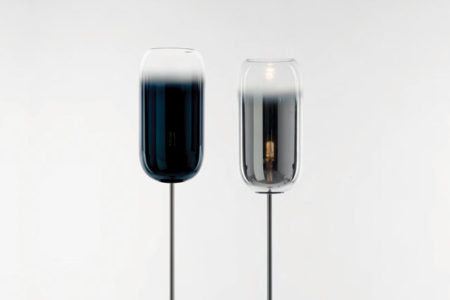 ArtemideDesign-Design-Floor-Gople-E27-Classic-Blue-Silver